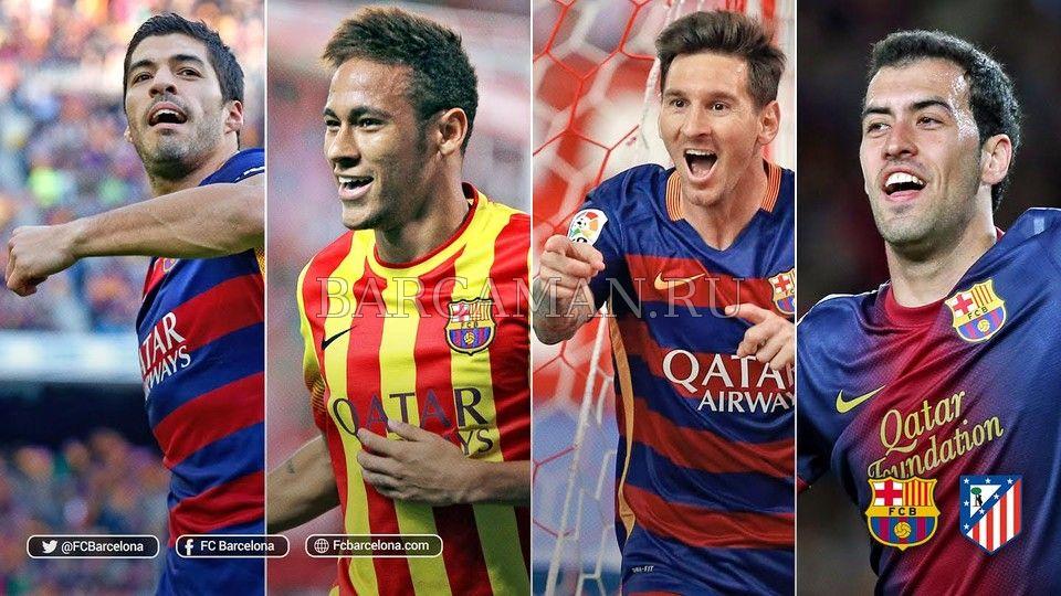 Барселона игроки фотки