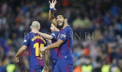 Барселона легко разгромила Леванте