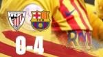 Запись матча Атлетик 0:4 Барселона
